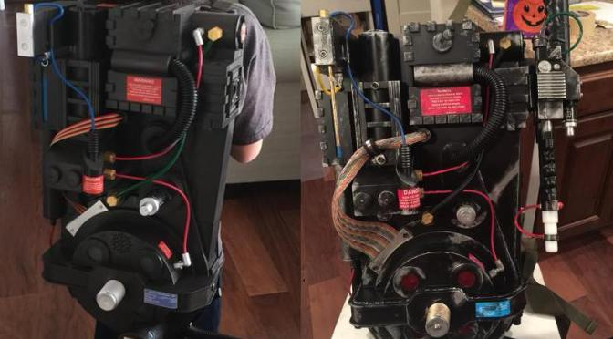 How to Upgrade a Spirit Halloween Ghostbusters Proton Pack