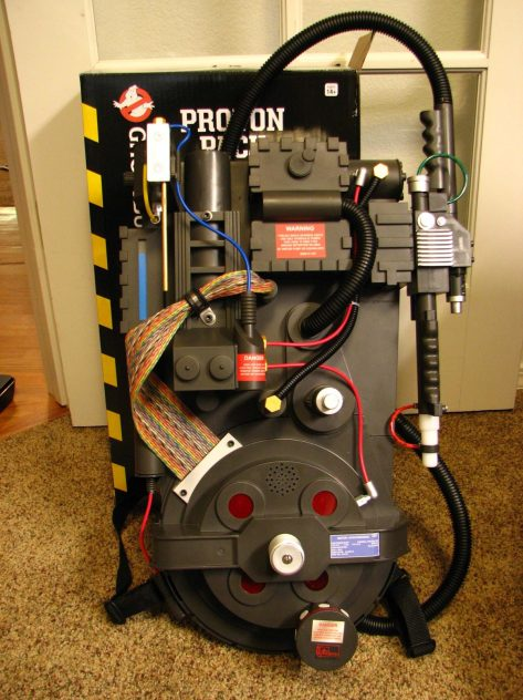 Proton Pack Cosmetic Upgrade Kit